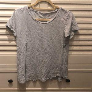 Caslon light gray top- medium